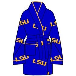 Ladies LSU All Over Print Cozy Robe