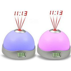 Colorful Electronic Magic Projection Alarm Clock