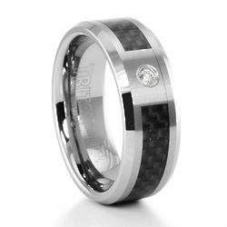 Brockton Tungsten and Carbon Fiber Ring