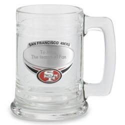 San Francisco 49ers Beer Mug