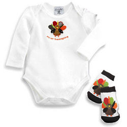 Infant Crawler Turkey Boxed Set