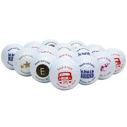 Personalized Golf Ball Wedding Favors