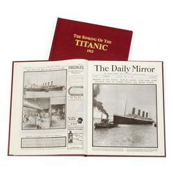 The Sinking of the Titanic Personalized Book