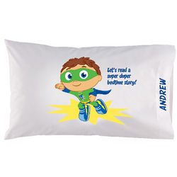 Super Why Bedtime Story Pillowcase
