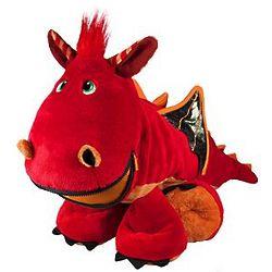 Personalized Blaze the Dragon Stuffie