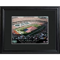 New York Jets Stadium Personalized Print