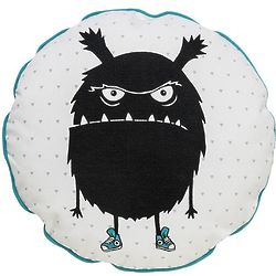 """'What' Monster 16"""" Pillow"""