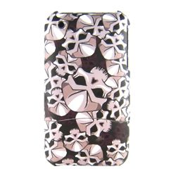 Skull Graphic Dockable Protective Case for iPhone 3G/3GS