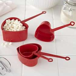 Heart-shaped Measuring Cups