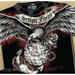 US Marine Corps Semper Fi T-Shirt