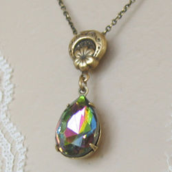 Glass Dewdrop Necklace