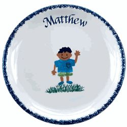 Personalized Kid's Plate