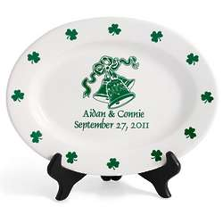 Personalized Irish Wedding Plate
