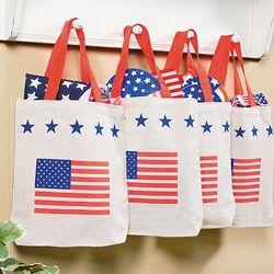 Patriotic Tote Bags