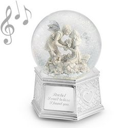 Girl and Boy Fairy Snow Globe