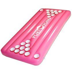 Floating Pool Beer Pong Pink Table