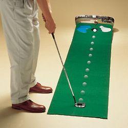 Golfer's Putt 'n Hazard Indoor Putting Green