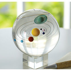 Solar System Sphere Decor