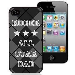 All Star Dad Personalized iPhone Case