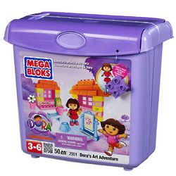 Dora the Explorer Art Adventure Mega Bloks