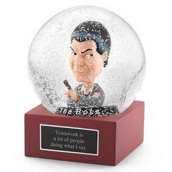 Boss Snow Globe