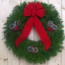 White Mountain Christmas Wreath