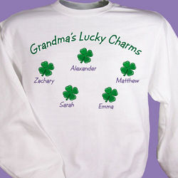 My Lucky Charms Personalized Sweatshirt