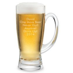 Engraved Speigelau Refresh Beer Stein