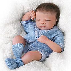 Little Charlie Realistic Sleepy Doll