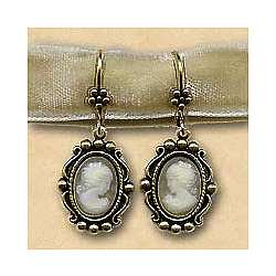 Her Majesty Cameo Earrings