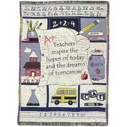 Teacher Inspiration Throw