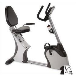 Easy Access Recumbent Exercise Bicycle