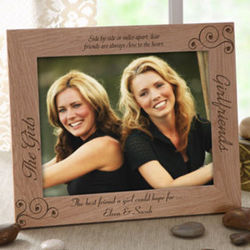 Personalized Girlfriends Picture Frame