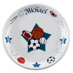 Personalized All Star Plate