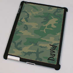 Personalized Camouflage iPad 2 Case