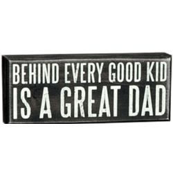 Great Dad Box Sign