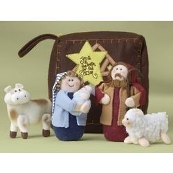 Children's Plush First Nativity Set