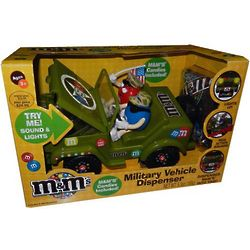 M&Ms Military Jeep Candy Dispenser