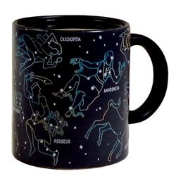 Starry Night Appearing Constellations Mug