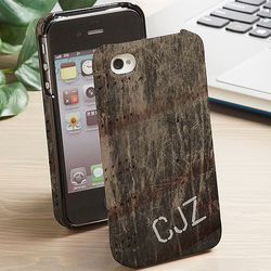 Personalized Grunge iPhone 4 Case