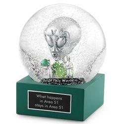 Out of This World Snow Globe