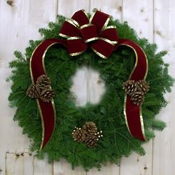 Rockefeller Center Christmas Wreath