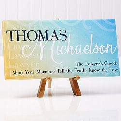 Inspiring Professional Personalized Canvas Print