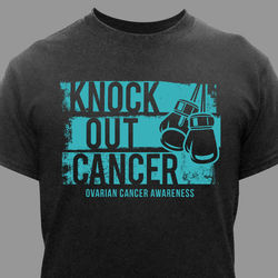Knock Out Ovarian Cancer T-Shirt