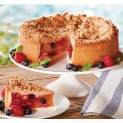 American Classic Peach & Berry Pie