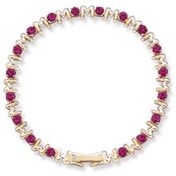 Crystal Mom Birthstone Bracelet