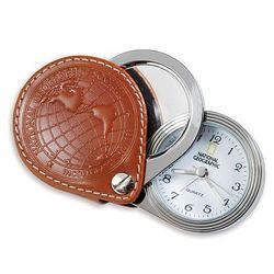 Travel Alarm & Magnifier