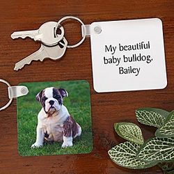Picture Perfect Paws Personalized Key Ring