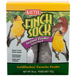 Finch Sock Instant Feeder Twin Pack