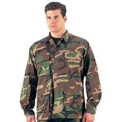 Woodland Camo BDU Shirt